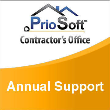 PrioSoft Contractor's Office Annual Support
